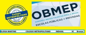 ALUNOS SE DESTACAM NA OLIMPÍADA DE MATEMÁTICA