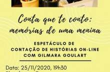 CONTA QUE TE CONTO: MEMÓRIAS DE UMA MENINA.