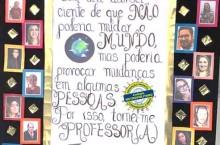 NOSSA HOMENAGEM AOS PROFESSORES