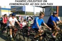 PASSEIO CICL�STICO EM COMEMORA��O AO DIA DOS PAIS